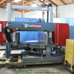 "20"" x 44"" Used Voortman Horizontal Double Mitering Beam Saw, Mdl. VB1050, Siemens Simatic Touch Screen Control, Cutting Speed Auto Adjusted To Suite The Profile, Auto Measure Year (2006) #A1406"