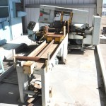 "16"" x 16"" Used Peerless Automatic Horizontal Bandsaw, Mdl. 1400-A, Hydraulic Bar Feed, Hydraulic Vises, Coolant System #A1571"