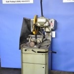 14'' Used Startrite Cold Saw, Mdl. 350, Manual Quick Acting Vise, Coolant System, 3 H.P. #A1631