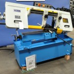 """10"""" x 18"""" Brand New Acra Horizontal Band Saw, Mdl. RF-1018S, Coolant, Work Length Stop #A1767"""