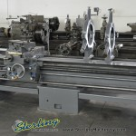 "30""/35 x 144"" Giana Gap Bed Hollow Spindle Engine Lathe Machine, Mdl. TG 350, 6"" HOLLOW SPINDLE, 4 Jaw Chuck #A1778"