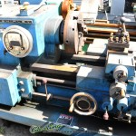 21'' x 54'' Used Lodge & Shipley Engine Lathe, Mdl. 2013  AVS, 3 & 4 Jaw Chuck, Tool Post, Live Center, General Electric Speed Variator, 10 H.P.#A1670