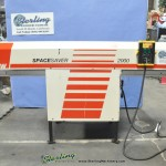 """1/4"""" - 3 1/8"""" Used SMW (Sameca) SpaceSaver Automatic Magazine Bar Feed System, Mdl. Spacesaver 2000, MVZ680, Year (1996) #A1871"""