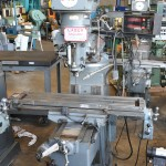 """9"""" x 42"""" Used Lagun Vertical Milling Machine, Mdl. FTV- 1, Table Power Feed, Sargon 2 Axis Digital Readout System #A1891"""