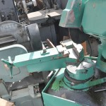 """10"""" Used Mep Manual Cold Saw Machine, Mdl. TRL-300 Type C112M, Coolant, Vise, Mitering #A1893"""