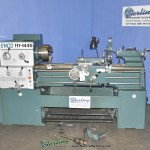 "14""/19"" x 40"" Used Enco Gap Bed Engine Lathe Machine, Mdl. 111-1445, 3 Jaw Chuck, Steady Rest, Foot Brake, Coolant, Year (1996) #A1906"