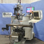 "9"" x 48"" Used Bridgeport CNC 3 Axis Milling Machine, Mdl. V2XT, Power Draw Bar, Coolant System, Lubrication System #A1927"