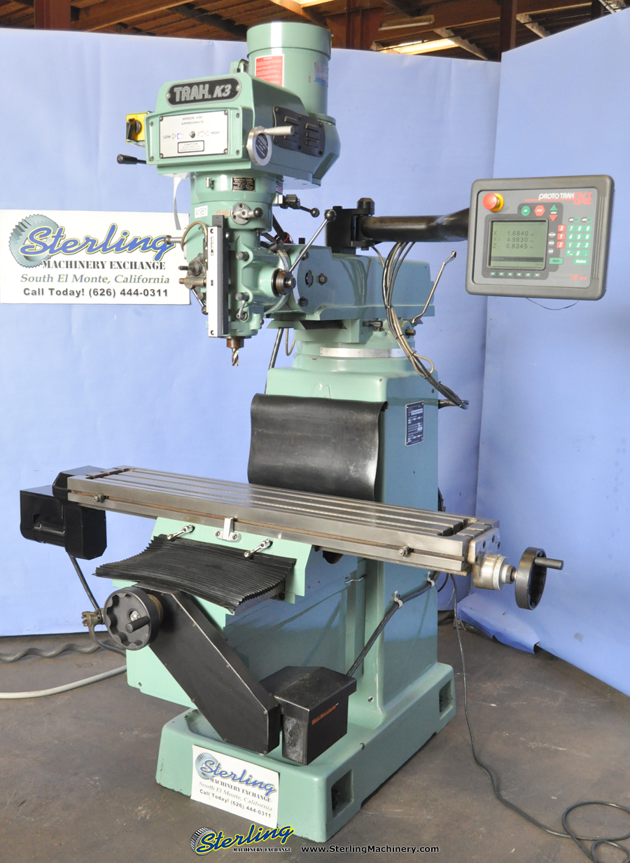 """Bandsaw Mill For Sale >> 10"""" x 50"""" Used Southwestern Industries 2 Axis CNC Vertical ..."""