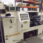 "20"" x 40"" Bridgeport Romi EZ Path II CNC Lathe, Mdl. EZ PATH II, EZ- Path II CNC Control (32 Bit), 3 Jaw Chuck, Coolant System, Work Light, Auto Lube System, Rear Splash Guard, Front Sliding Splash Guard, #A2085"