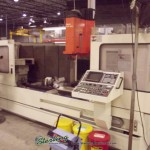 """78.74"""" x 16.14"""" Used Mazak 3 Axis Vertical Machining Center, Mdl. VTC-41L, Mazatrol EIA CNC Control, Small Amount of Tooling,  Year (1994)  #A2086"""