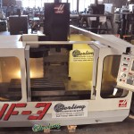 "40"" x 20"" x25"" Haas CNC Vertical Machining Center, Mdl. VF-3, Haas 3 Axis CNC Control, , Chip Augar, Programmable Coolant, Floppy Disc Drive, Coolant System, Auto Lube System, 4th Axis Ready, 20 H.P Motor,  Year (1994)  #A2065"