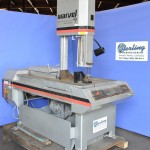 "18"" Used Marvel Vertical Bandsaw (Tilt Frame), Mdl. Series 8 Mark II, Manual Vise, Coolant System, Work Light, Horsepower: 2,  #A2144"