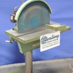 """20"""" Used Conquest Disc Sander, Mdl. 20ARCH, Table Elevating Handwheel, Table Tilting Handwheel, Mitering Attachment, 2 H.P. Motor, Shield,  #A2142"""