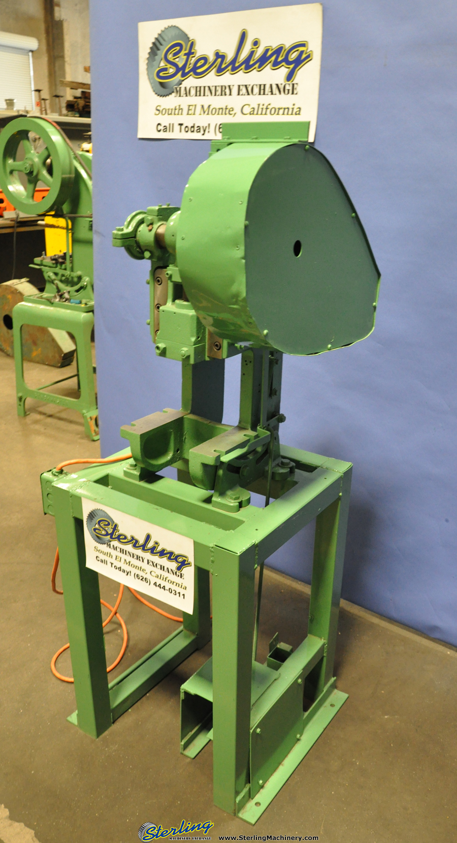 Small Punch Press for Sale http://blog.sterlingmachinery.com/?p=4581