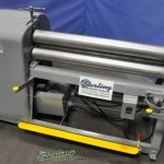 "Ga. x 48"" Used New Dimension Pyramid Power Slip Roll, Mdl. 4-25, Emergency Cable Stop, Emergency Foot Treadle, Forward- Reversing Switch, #A2721"