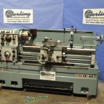 "6""/24"" x 40"" Used Acra Turn Namseon Gap Bed Engine Lathe, Mdl. LS-400, 3 Jaw Chuck, KDK Tool Post, Coolant, #A2664"