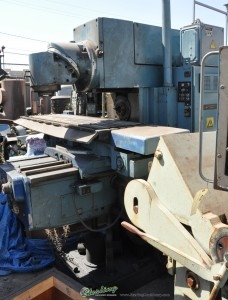 Used Heckert Combination Horizontal- Vertical Mill