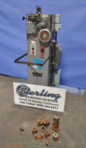Used Torrington Spring Coiler Wire Machine