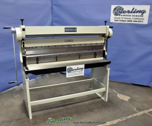 Brand New Birmingham Manual 3 in 1 Machine- Shear, Press Brake, Box and Pan Brake, Slip Roll With Stand