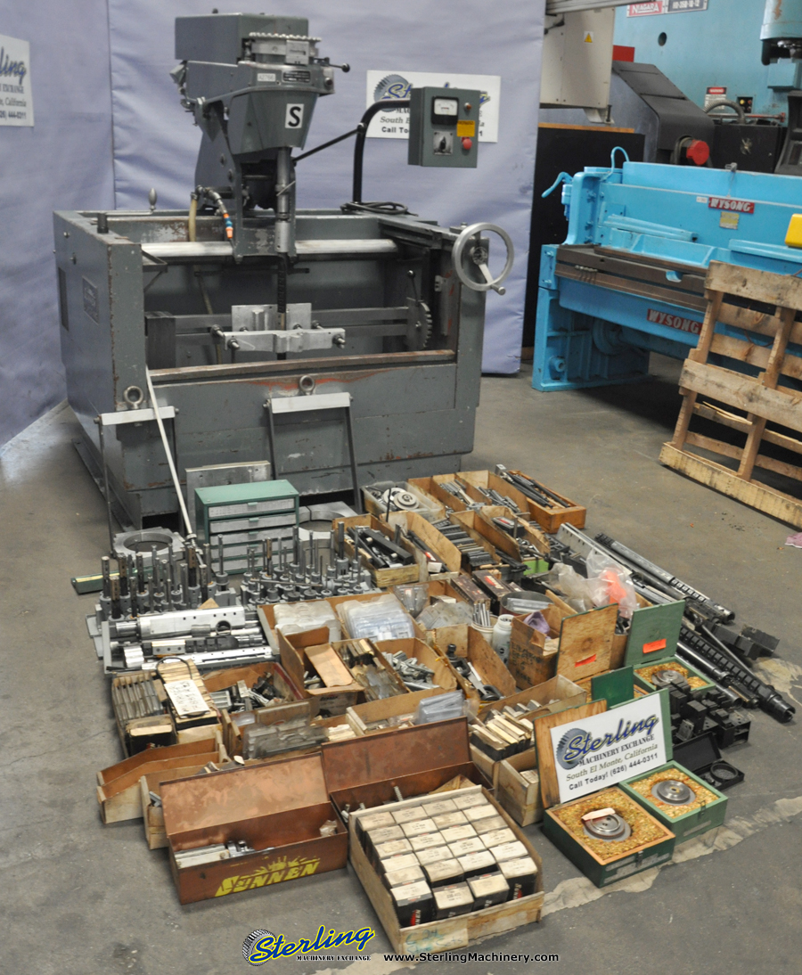 Used Sunnen Cylinder King Automatic Vertical Honing