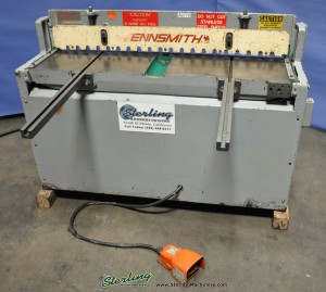 Used Tennsmith Hydraulic Power Shear