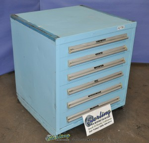 Used 6 Drawer Heavy Duty Parts Cabinet