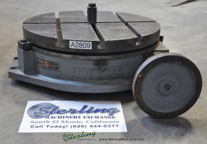 "Used 21"" Troyke T-Slotted Rotary Table"