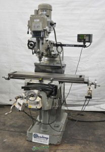 Used Sharp Heavy Duty Vertical Milling Machine