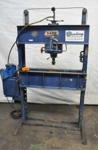 Used Dake H Frame Electric Hydraulic Press