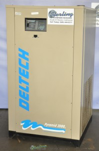 Used Deltech Pyramid 2000 Refrigerated Air Dryer
