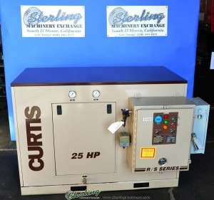 Used Curtis Rotary Type Air Compressor