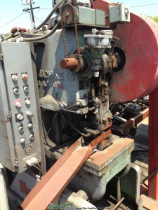 Used Rousselle Gap Frame Press