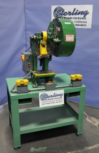Used Benchmaster Air Clutch Punch Press