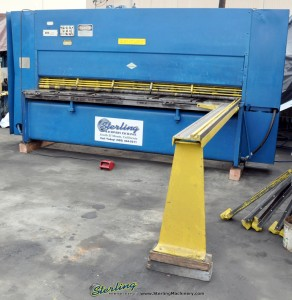 Used Cincinnati Century Hydraulic Power Shear