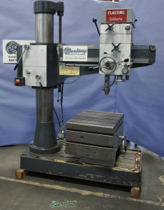 Used Clausing Colchester Radial Drill With Tilting Table