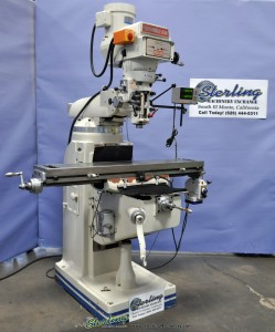 Used Birmingham (VARIABLE SPEED) Vertical Milling Machine