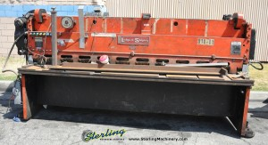Used Lodge & Shipley Power Squaring Shear