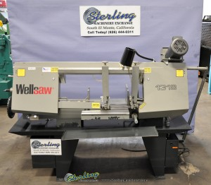 "Used Wellsaw Manual Bandsaw ""DEMO SAW"" VERY LITTLE USE."
