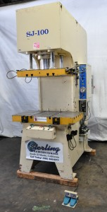 Used Sheng JSE Co. C Frame Hydraulic Press