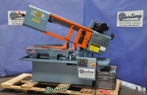 Brand New Doall Swivel Head Miter Cutting Metal Bandsaw