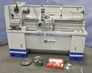 Brand New Birmingham Gap Bed Engine Lathe (Geared Head) INCLUDED DIGITAL READOUT
