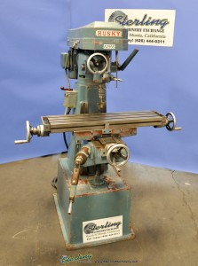 Used Husky Vertical Milling Machine