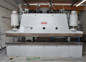 "Used Pacific Heavy Duty Hydraulic Press Brake with (HUGE 38"" Deep Throat )"