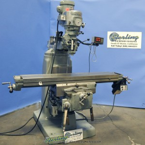Bridgeport Series II Special Vertical Mill (Heavy Duty Table and Base)