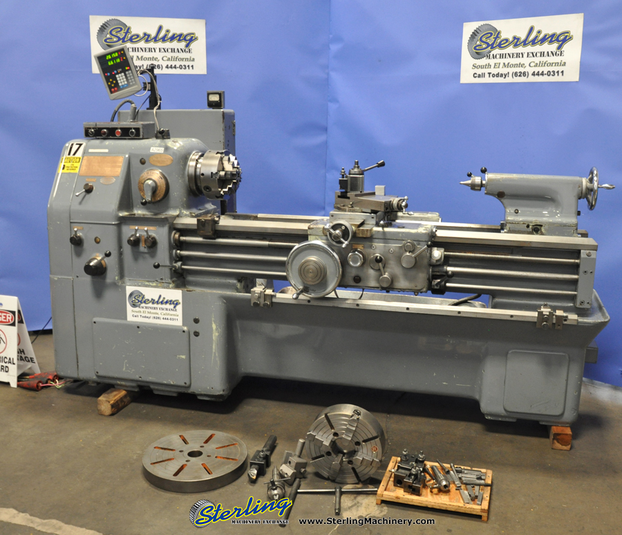Used Okuma (Heavy Duty) Engine Lathe | Sterling Machinery