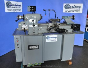 Used Hardinge Precision Toolroom Lathe