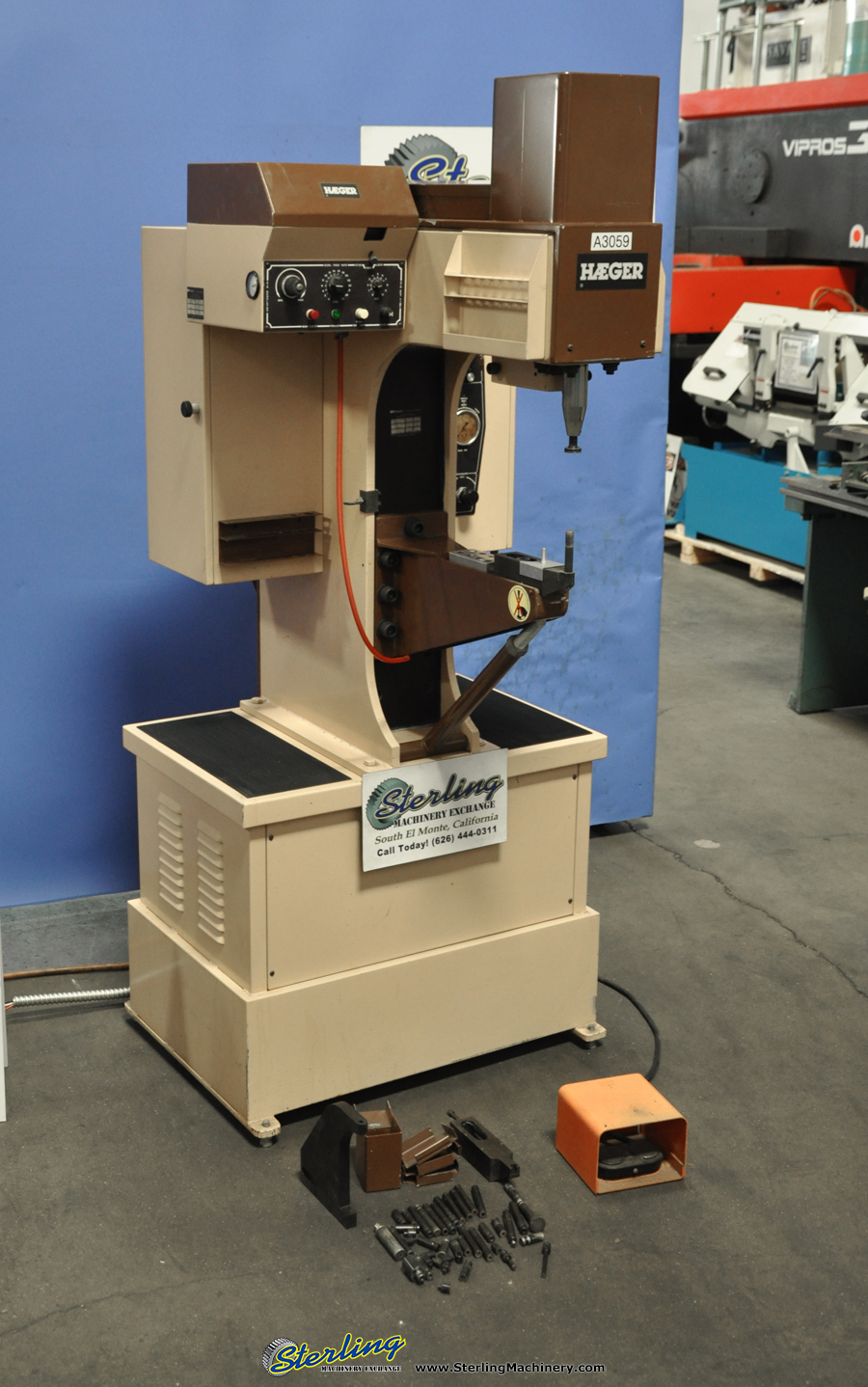 Used Haeger Insertion Press Sterling Machinery