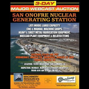 san onofre auction