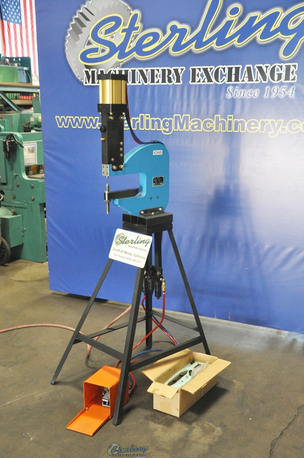 1 32 Quot 1 4 Quot Used General Pneumatic Riveter And Insertion