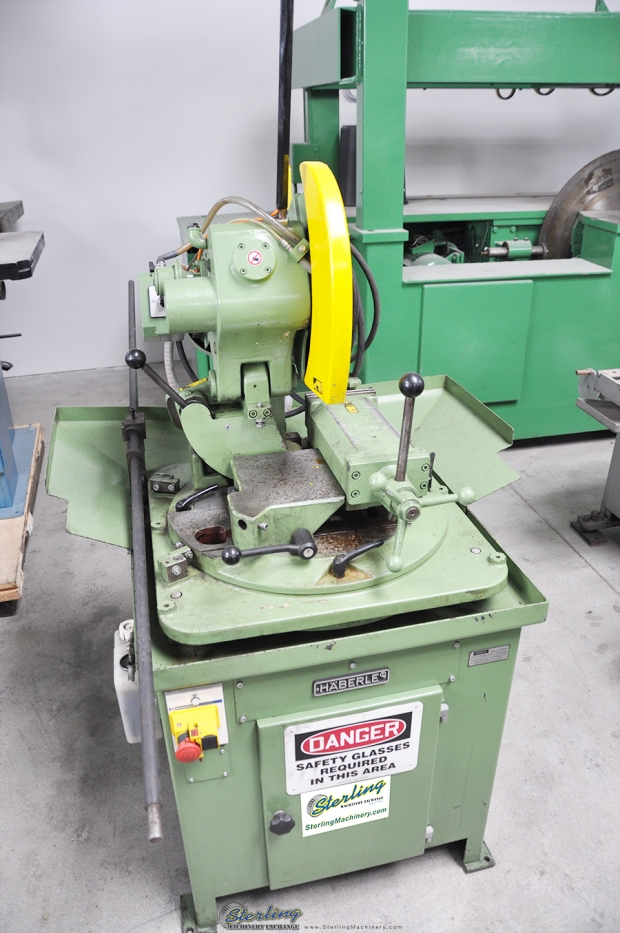 14 Quot Used Haberle Compound Angle Cold Saw And Miter Cutting